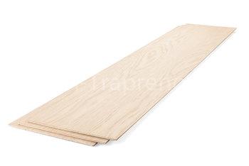 Stootbord 20 x 100 cm eiken
