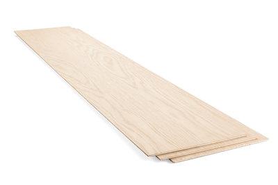 Stootbord eiken 20 x 140 cm