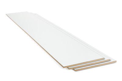 Stootbord wit 20 x 100 cm