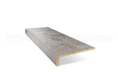 Enkele CPL Overzettrede 30 x 90 cm (Licht Beton) Professionele kwaliteit!