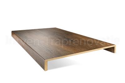 Dubbele CPL Overzettrede 60 x 136 cm (Eik Bruin) Professionele kwaliteit!