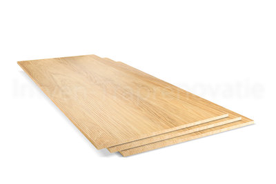Dubbel Stootbord CPL 40 x 90 cm (Naturel)