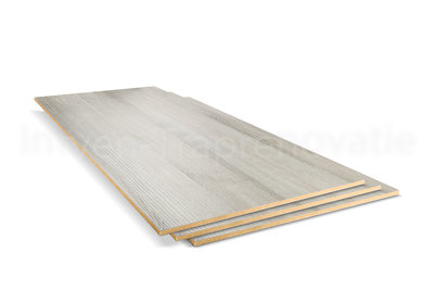 Dubbel Stootbord CPL 40 x 136 cm (Es Grijs)