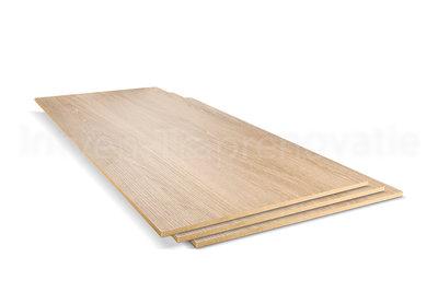 Dubbel Stootbord CPL 40 x 136 cm (Eik Zand)