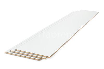 Stootbord wit 20 x 140 cm