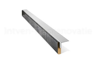 uitlooptrede van cpl materiaal in de kleur donker beton