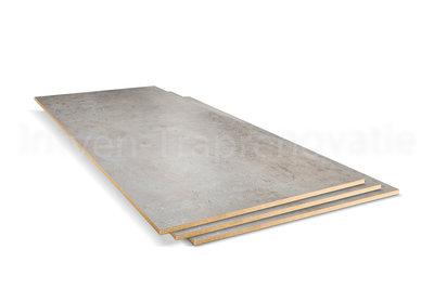 dubbel stootboord van cpl materiaal in de kleur licht beton 40x90cm