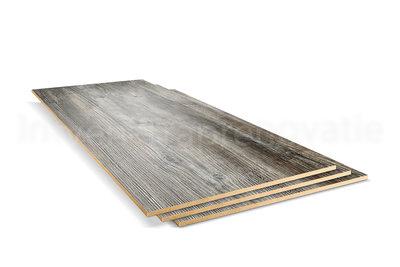 dubbel stootboord van cpl materiaal in de kleur den 40x136cm