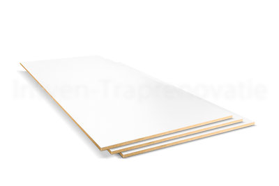 Dubbel Stootbord CPL 40 x 90 cm (ral9010)
