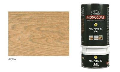 rubio monocoat olie in de kleur aqua