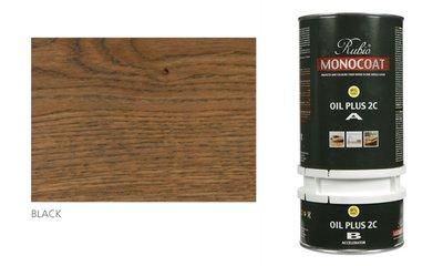 rubio monocoat olie in de kleur black
