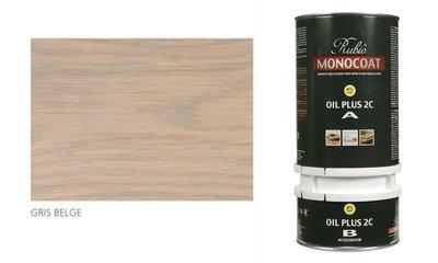 rubio monocoat olie in de kleur gris belge